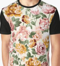 Sunny Floral - Ivory Graphic T-Shirt