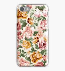 Sunny Floral - Ivory iPhone Case/Skin