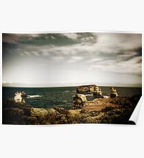 Bay of Martyrs, Great Ocean Road, Victoria Poster