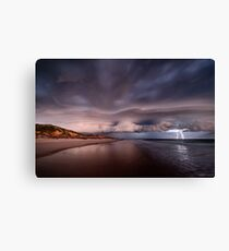 Angry Skies Canvas Print