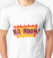 retro cartoon comic book explosion Unisex T-Shirt