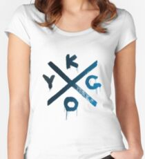 Kygo - Cloud Nine tour grafitti Women's Fitted Scoop T-Shirt