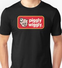 Piggly Wiggly T-Shirt Retro 70's 80's Vintage Country Unisex T-Shirt