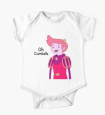 Oh Gumballs Prince Gumball Adventure Time One Piece - Short Sleeve