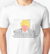 Boris Johnson - On Arnold Schwarzenegger T-Shirt