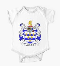 Grey Coat of Arms Kids Clothes