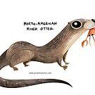 North American River Otter by rohanchak