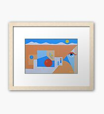 TAOS PERSPECTIVE #1 Framed Print