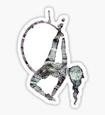 Stammes-Henna-Luftbild-Reifen Sticker