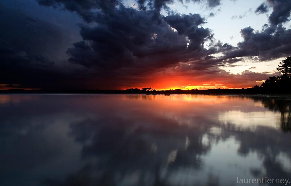 Fire in the sky. by Lauren  Tierney