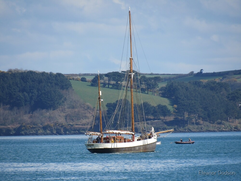 Sailing in Falmouth by Eleanor Dodson