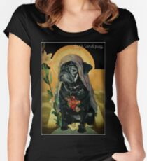 holy black Women's Fitted Scoop T-Shirt