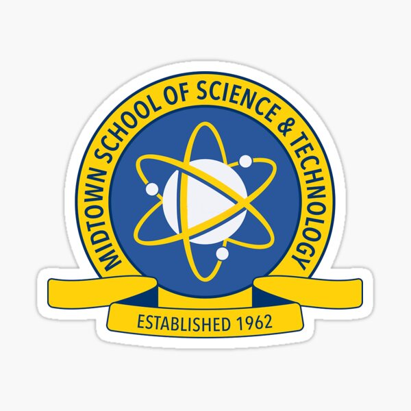 Midtown High: School of Science and Technology Sticker