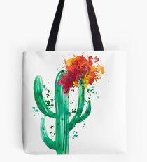 Cactus fleuri - CesPtitsPigments Tote Bag