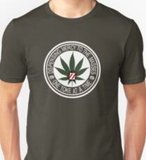 Z Nation One Toke at a Time Unisex T-Shirt