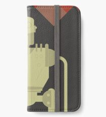 The Iron Giant, animated movie poster, directed by Brad Bird cartoon, illustration iPhone Wallet/Case/Skin