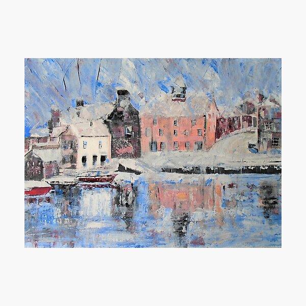 The harbour, Lerwick Photographic Print