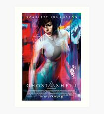 Ghost In The Shell #1 Art Print