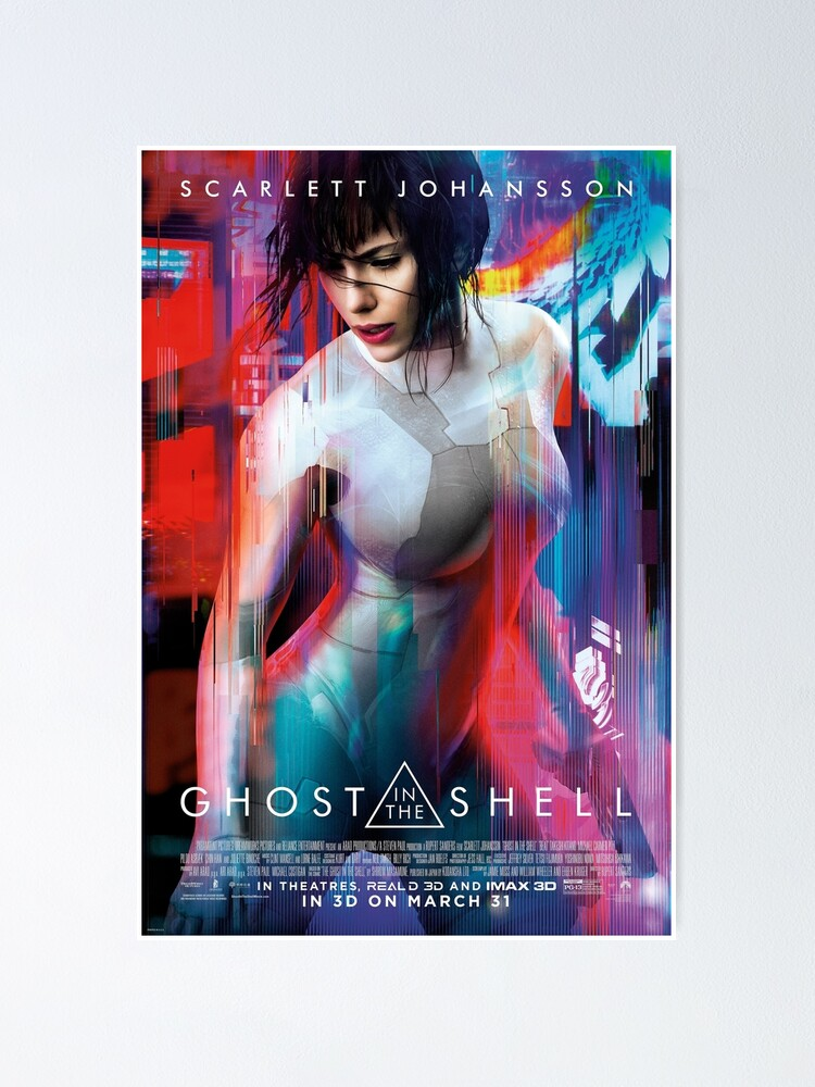 Ghost In The Shell 1 Poster By Yourfaceinhd Redbubble