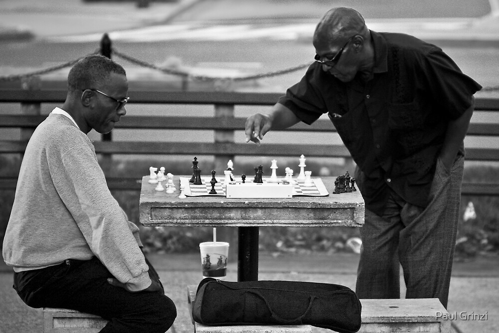 """Check Mates"" by Paul Grinzi"