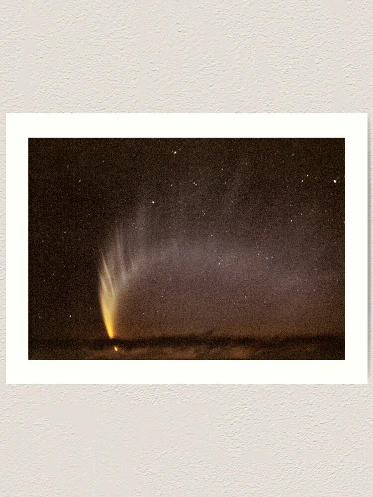 Alternate view of Comet McNaught Art Print