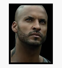 Lincoln (Ricky Whittle) Photographic Print