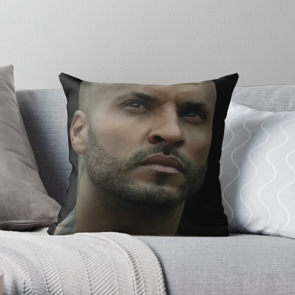 Lincoln (Ricky Whittle) Throw Pillow