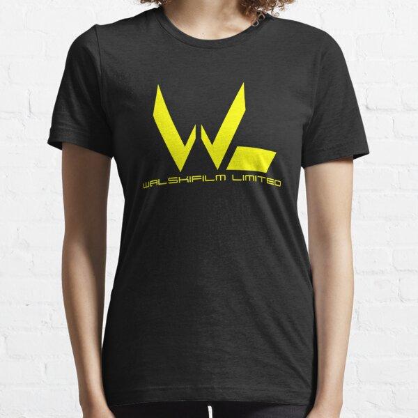 Yellow Walskifilm Logo Essential T-Shirt