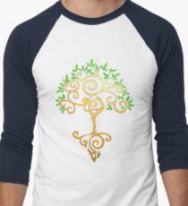 Yoga Tree Men's Baseball ¾ T-Shirt