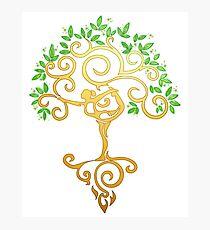 Yoga Tree Photographic Print