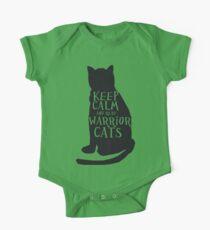 keep calm warrior cats One Piece - Short Sleeve