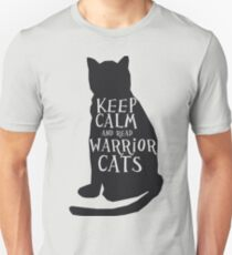 keep calm warrior cats Unisex T-Shirt