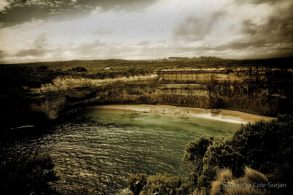 Lace Curtains, Great Ocean Road, Victoria by Samantha Cole-Surjan
