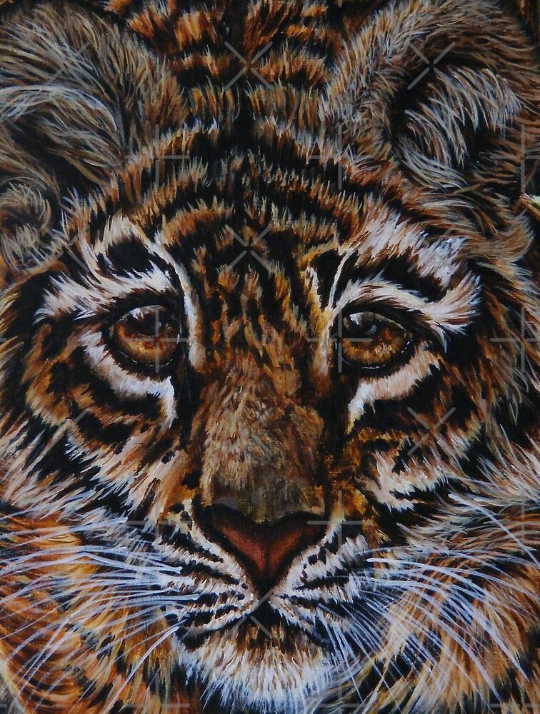 tiger tiger by dnlddean
