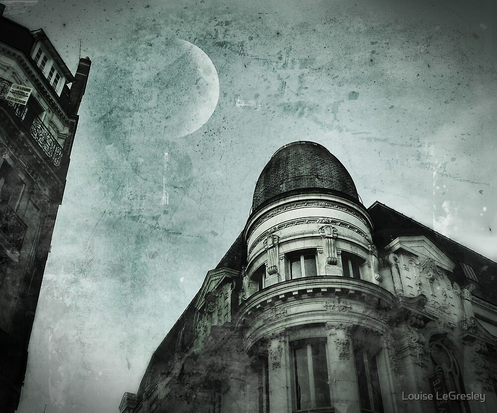{ moon rising } by Louise LeGresley