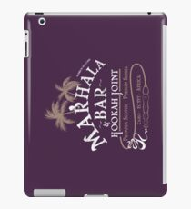 Marhala Bar - Indiana Jones Hookah Gold Joint iPad Case/Skin