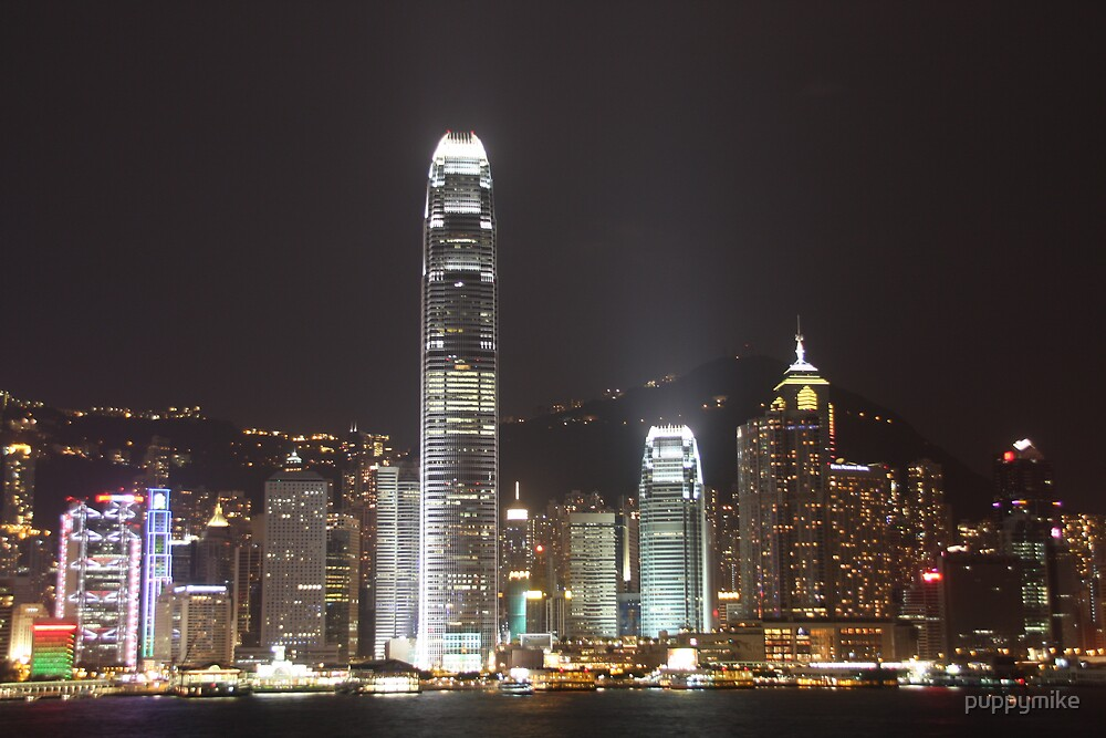 Hong Kong Skyline by puppymike