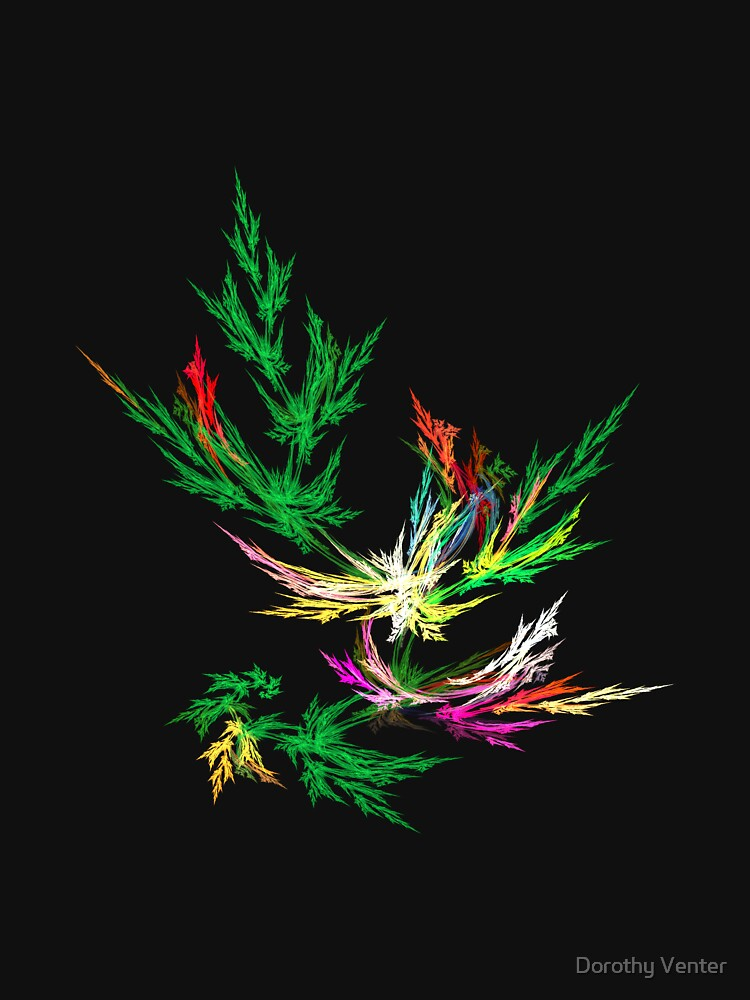 Fractal Leaves by dorothyventer