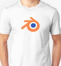 blender logo 3d design Unisex T-Shirt