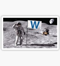 Out of this world - Cubs W Sticker