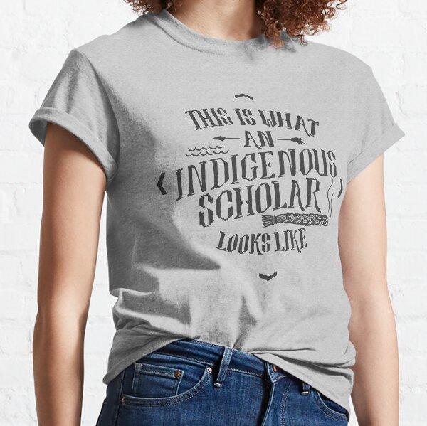 Indigenous Scholar (Gray) Classic T-Shirt