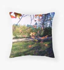 My Front Yard Throw Pillow