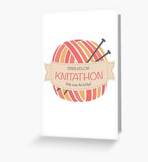 Stars Hollow Knitathon Greeting Card