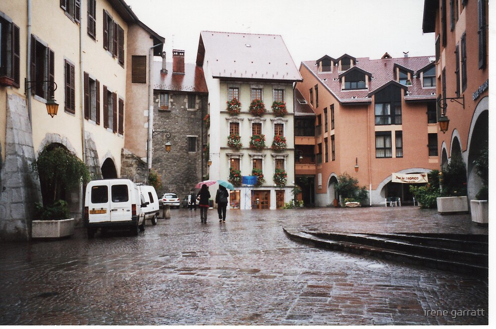 Annacy in the rain by irene garratt