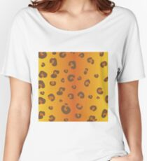 animal pattern Women's Relaxed Fit T-Shirt