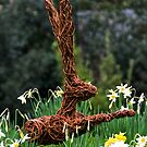 the Wicker Hare by Country  Pursuits
