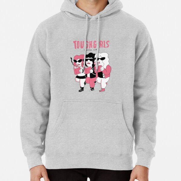 Tough girls reading club Pullover Hoodie