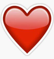 Heart emoji Sticker
