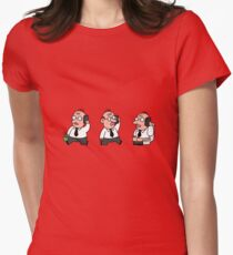 Man at work Women's Fitted T-Shirt