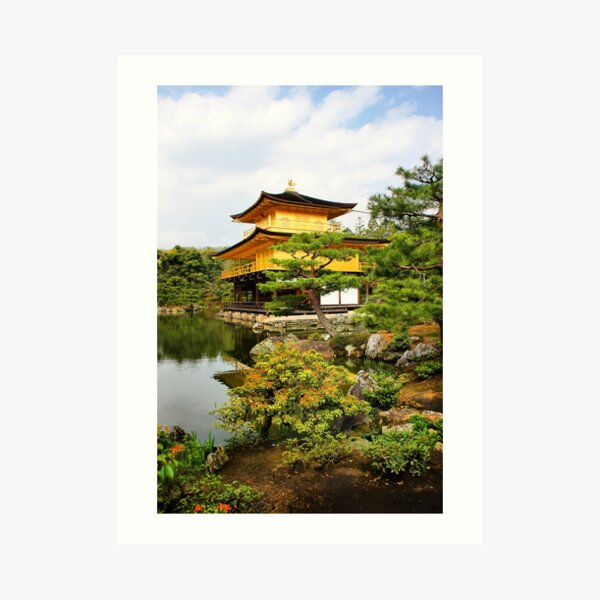 Kinkakuji (Golden Pavillion) Japan Art Print